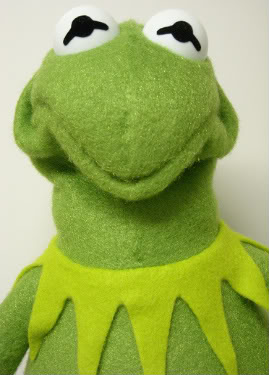 Climb Out of My Nose: Muppet of the Fortnight: Kermit the Frog